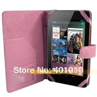 New sleeve leather cover case for Google Nexus 7 free shipping by air mail ED718
