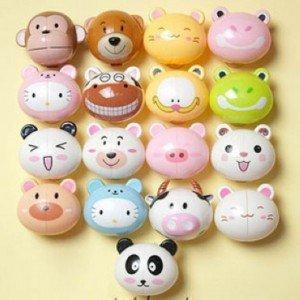 Retail Cute Cartoon Animal Cute Animal Brushing Teeth
