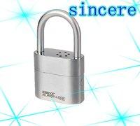 free shippingpadlock alarm , security alarm padlock, siren lock