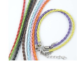 Hot sale !Free Shipping Man-Made Braided Rubber 18cm Cord Bracelet,(200pcs/lot) Wholesale High Quality Jewelry Material Supplies(China (Mainland))