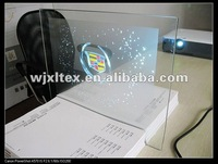 Holography optical Adhesive Rear Projection Screen Foil for Glass(clear foil)