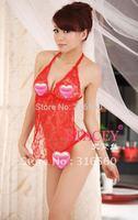 Best selling!!Sexy Lingerie Bra+G String Set Sleepwear Underwear Uniform Kimono Costume Free shipping 5pcs/lot