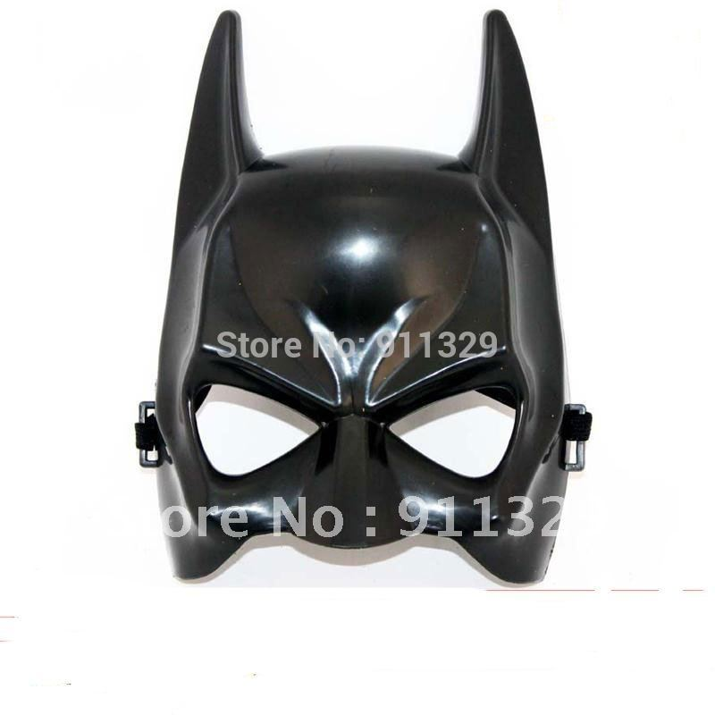 Best selling!! love novel costume party mask Halloween game show half a face mask batman trick toy Free shipping 5 pcs/lot(China (Mainland))