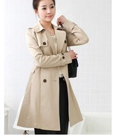 TJ9970 latest CHIC Luxury trench coat korean new design coat