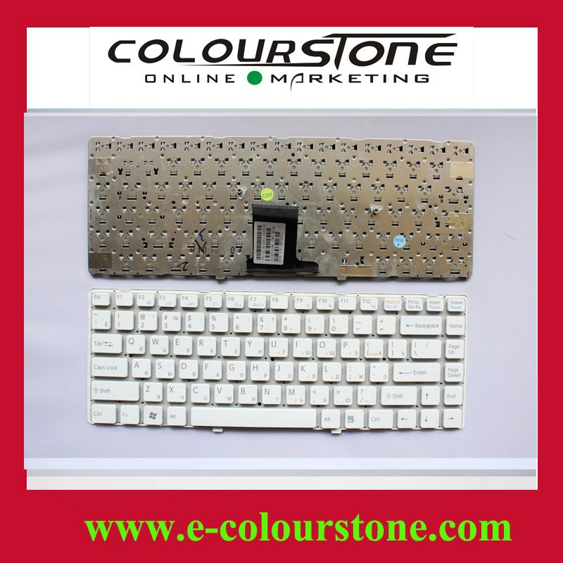 Free shipping Brand NEW laptop keyboard for SONY EA,VPC-EA Service RU WHITE keyboad 148792071 without fream(China (Mainland))