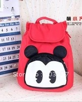 2012 new avant-garde candy color mickey head double shoulder pack female bag bag bag after students lovely backpack