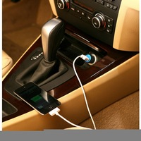 Mini Auto Vehicle Mounted Cell Phone Cigarette Lighter Charger IPhone Apple USB
