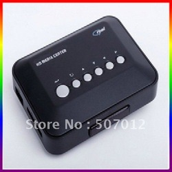 RM/RMVB MP5 HD Media HDD PLAYER Center USB HDD/SD/MS - AVI DVD DIVX MP3 RMVB - Sample(China (Mainland))