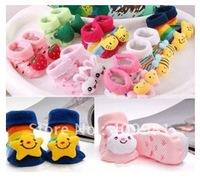 Free Shipping Cute Cartoon Animal Cotton Socks Cartoon Infant Baby Sock Children Socks Multicolor