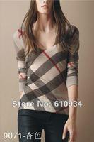 Free shipping new fashion women long sleeve T-shirt  ladies T-shirt ,cotton slim women shirt