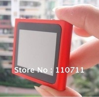 Free Shipping ! ! ! 2pcs/lot 6th Gen 8GB MP3 MP4 Player with 1.8'' Touch Screen