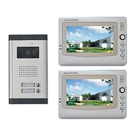 Stock cheap deal Infrared Video Door Phone System (2 LCD Screens, Easy Installation)