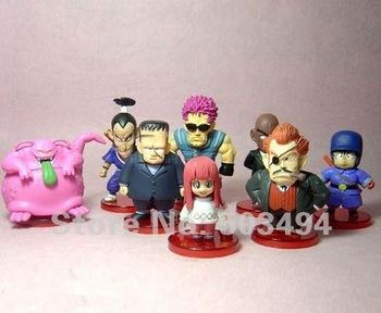 EMS Free shipping Cartoon Dragon Ball Z DBZ Figure Toy Set of 8 pcs