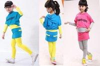 KIDS pantskirt,girl's sports sweater,litte girls tracksuit,1set=1coat+1pants,5sets/lot,hot sale+china postairlmail FREE SHIPPING