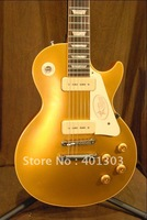Free Shipping Manufacturers, wholesale Made a variety of Electric Guitar best quality Sunburst golden