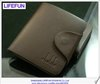 2013 new men GENUINE LEATHER vintage cross short section foldable Wallets purses card holder brand LIFEFUN LF06343