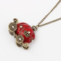 Min.order is $15 (mix order) Free Shipping  New Style Retro Hollow Metal False Collar Necklace N224