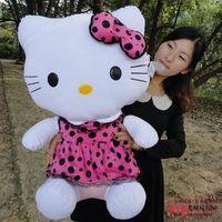75cm HELLO KITTY doll suffed & plush hello kitty cat for birthday gift