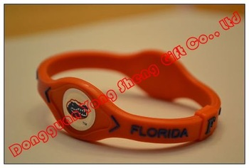 Florida Gators FL NCAA College Sports Power Bracelet Wristband Band NIB Orange