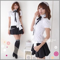 - pure school wear female school uniform cartoon princess clothes dress