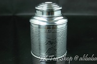Tin Canister, 150g Tea Capacity(Super airtight, thick tin material)