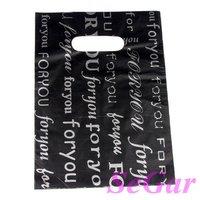 Free Shipping 300 High Quality Plastic Retail Gift Shopping Bags 22X16cm TVL-XA162207