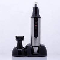 Paiter  ES702  Professional nose ear face hair trimmer beard shaver  hair remover waterproof Stainless steel free shipping