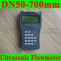 Free Shipping New TDS-100H-M1 (DN50-700mm)Handheld Ultrasonic Flow Meter Flowmeter