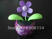 30pcs per lot Free shipping via  China post air mail solar  dancing flower