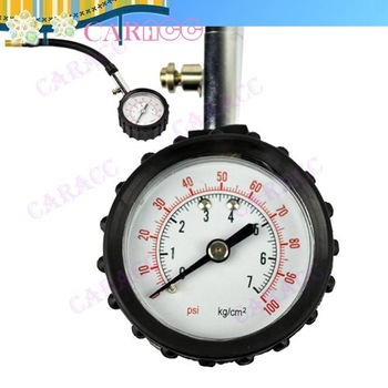New Precision Tire Pressure Meter Gauge Tyre Measure 0-100 psi Swivel Angle Chuck 5957