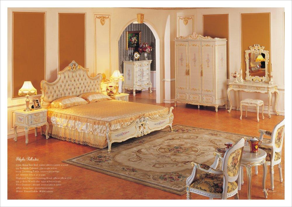 Houten Slaapkamer Meubels : Antique Bedroom Furniture Styles