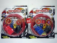 4D Beyblade Beystadium toy set, Beyblade 4D Metal Masters+2 Tops Set+2 Launchers beystadium bey stadium