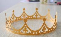laser cut individual party decration paper birthday crown