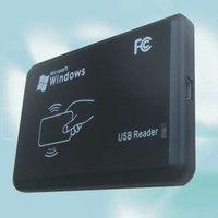 Rfid access control  reader +13.56MHz+USB+Free drive+free shipping+Read last 8 digits