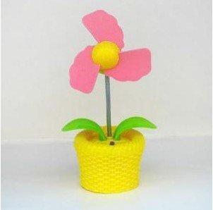 The flowerpots fan usb fan + Nightlight beauty design free shipping