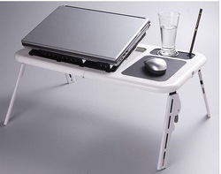 Free shipping//Notebook computer desk /portable computer desk fold up and down /computer desk(China (Mainland))
