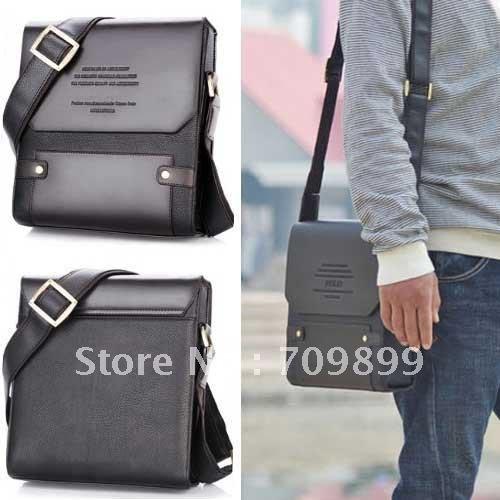 Authentic Moonar Men'S Leather Shoulder Messenger Briefcase Bag Bookbag 72