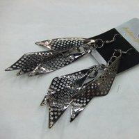 2013  Fashion Jewelry Sharp Metal Drop Earrings For Women 12pairs/lot  ERH1161