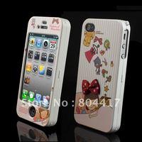 Free Shipping!  Lovely Sleep Girl Full Body Hard Back Cover Case Skin for Apple iPhone 4 4G 4S, High Quality