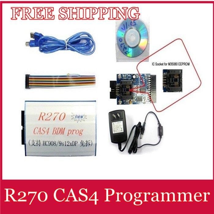 Средства для диагностики для авто и мото R270 Auto CAS4 BDM R270 CAS4 комплект шнуров для диагностики авто