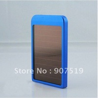 Factury wholesale Free shipping +USB 2600mAh Solar Battery Panel Charger for Phone MP3 MP4 PDA