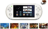 "Free Shipping!!Brand JXD 5.0"" Android 4.0 Game Console Player 3-point Touch Tablet PC HD Camera"