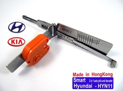 2013 HK Smart 2 in 1 auto pick/decoder HYN11 Hyundai / KIA ...LOCKSMITH TOOLS lock pick set.door lock opener padlock tool(China (Mainland))