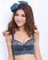 High-end adjustable desirable plug mat small chest gathered thick women bra  /Free shipping