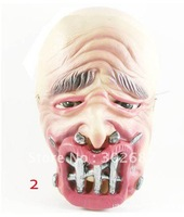Halloween Full Face Rotten Mouth Steel Nails Ghost Masks Mardi Gras Masquerade Costume Party MASKS Free Shipping 20 pcs