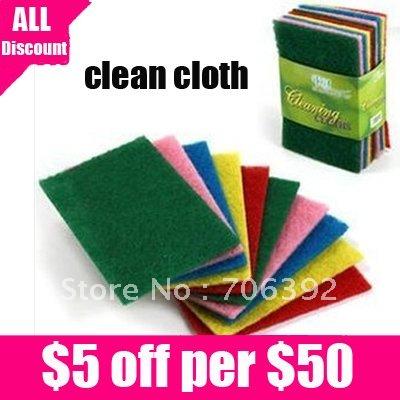 новой чистой тканью кухонное полотенце тряпку/красочные чистящих площадку 10set/лот