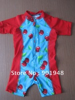hot selling Uv 50+ Children's one piece swimsuits , bodysuits