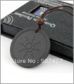 DHL Free shipping 100pcs/ lot scalar energy quantum pendant lava materials with Quantum Science