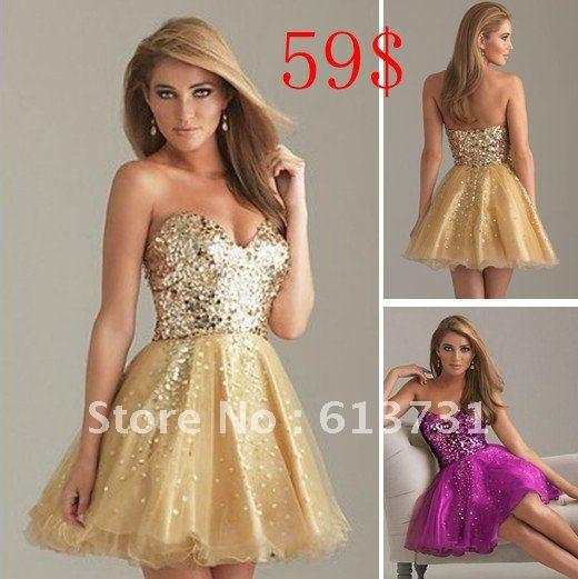 Cheap Party Mini Dresses - Plus Size Masquerade Dresses