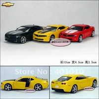 Exquisite series CHEVROLET camaro bumblebee alloy car model plain free air mail